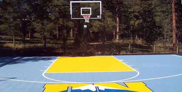jak przygotować boisko do koszykówki